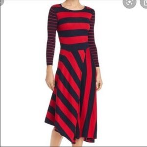 🌻 HP🎉🆕 Joie Ecedra Navy Red Knit Dress